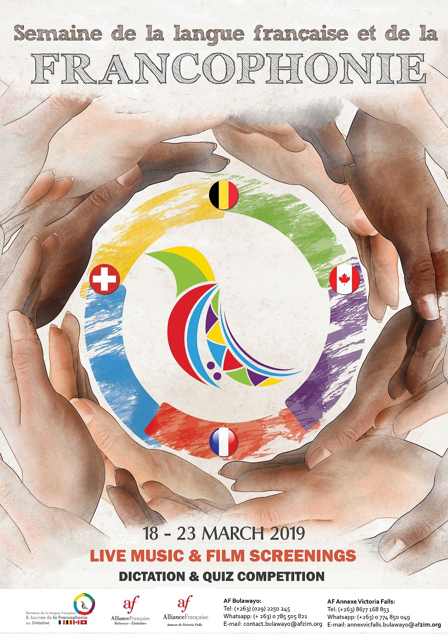 Francophonie week 2019 18 to 23 March - La France au Zimbabwe et au