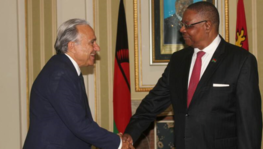 Presentation of credentials to Malawi of His Excellency Ambassador Richard (...)
